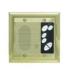 Legrand - On-q F7641SB Intercom Patio Unit Outdoor Shiny Brass