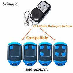 Calvas Nova Centurion 1 2 3 4 433 92MHZ Compatible Remote Control Replacement