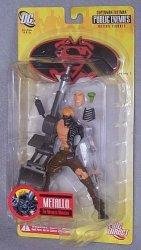 DC Direct Public Enemies Superman batman Series 1 Metallo Action Figure