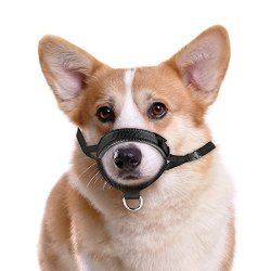 ONSON Dog Muzzle - Adjustable And Comfortable Nylon Muzzles For Small Medium Large Extra Dog - Stops Biting Safe Retraining Of Aggressive Dog L