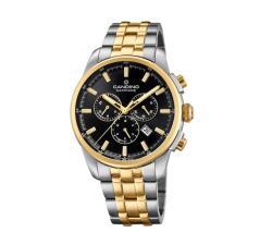 Candino Sapphire Swiss Made Mens Stainless Steel Watch - Sport Elegance
