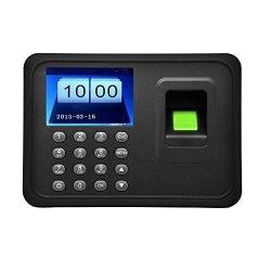 "Docooler 2.4"" Tft Lcd Display USB Biometric Fingerprint Attendance Machine Dc 5V 1A Time Clock Recorder Employee Checking-in Reader A6"