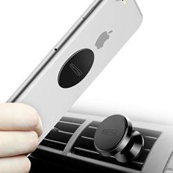 Torras Magnetic Car Mount 360 Rotation Air Vent Cell Phone Holder Car Cradle Mount Compatible For Samsung Galaxy S9 S8 S7 Note 9 Note 8 Ip