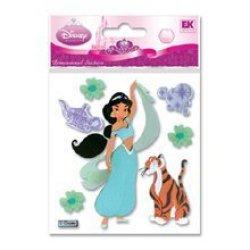 Disney R Dimensional Stickers - Jasmine With Rajah