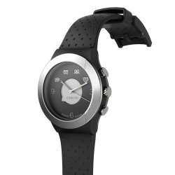 Cogito Fit Smart Bluetooth Connected Watch Black Steel