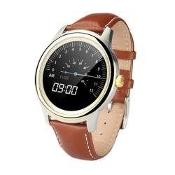 Domino DM365 1.33 Inch On-cell Ips Full View Capacitive Touch Screen MTK2502A-ARM7 Bluetooth 4.0 Smart Watch Phone Support Facebook Whatsapp Raise To