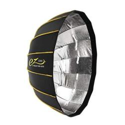 """Glow Ez Lock Collapsible Silver Beauty Dish 34"""""""