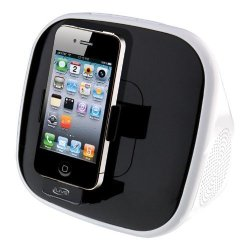 ILive ISP191B App-enhanced Speaker With Rotating Dock For Iphone ipod