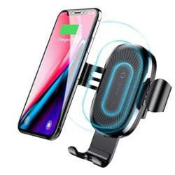 Baseus 10W Qi Wireless Car Charger Air Vent Holder For Iphone X XS 8 8 Plus Samsung Galaxy S9 S8 S7 S7 Edge Note 8