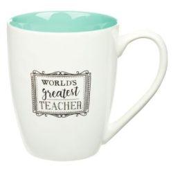 Christian Art Gifts Inc World's Greatest Teacher Coffee Mug