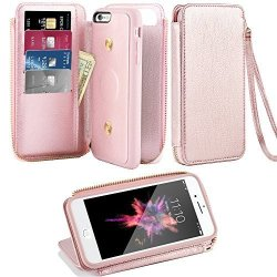 best service bef93 d29fb ZVE Iphone 6 Wallet Case Iphone 6S Card Holder Case Apple Iphone 6 Leather  Case With Wallet Credit Card Slot Holder Zipper Filo | R565.00 | Cellphone  ...