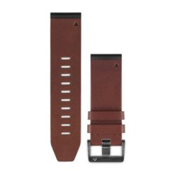 Garmin QuickFit 26mm Brown Leather Band