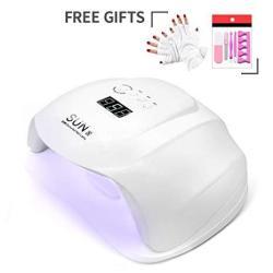 54W Uv Nail Lamp Diozo LED Nail Dryer Quick-drying LED Uv Nail Drying Lamp With 4 Timer Setting 10 30 60 99 Second Timer Plus An