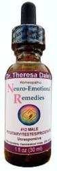 USA Neuro-emotional 12 Male Endocrine Denial Unresponsive Meridian Homeopathy