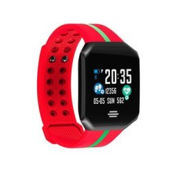 Goral B07 1.0 Inch Long Standby Blood Pressure Heart Rate Monitor Fitness Tracker Sm