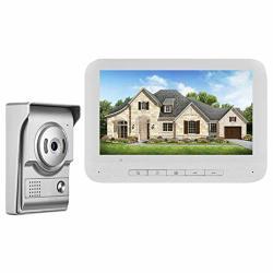 Umei 7 Inch Video Doorbell Camera Wireless Doorbell Camera Weatherproof Smart Phone Intercom Video Door Bell Secure Camera