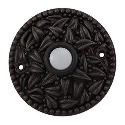 Vicenza Designs D4013 San Michele Round Doorbell Oil-rubbed Bronze