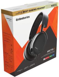 SteelSeries - Gaming Headset - Arctis 3- 2019 Edition - Back Pc gaming