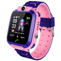 Touch Screen Kids Smart Phone Watch Front-facing Camera Sos Call