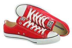 Converse Chuck Taylor All Star Ox Low Top Red Sneakers - 8.5 D M Us