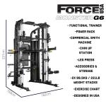 Fitness Network Force Usa Monster G6 - 2019 Model