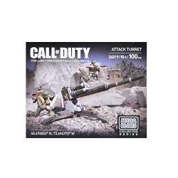 Mega Bloks Call Of Duty Attack Turret Building Set