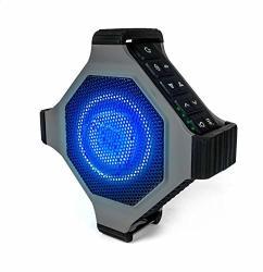 ECOXGEAR Ecoedge Plus GDI-EXEGPL410 Rugged Waterproof Floating Portable Bluetooth Wireless 20 Watt Smart Speaker With Bottle Ope