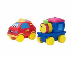 Bob The Train Push-n-zoom Pals 2 Pack Bob The Train & Fire Truck