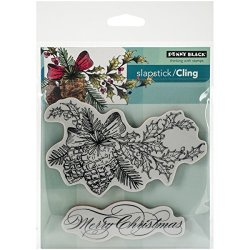 Penny Black, Inc. Penny Black Decorative Rubber Stamps Winter Pine