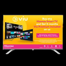 "HISENSE 65"" Uhd Smart Uled Tv With Hdr & Bluetooth"
