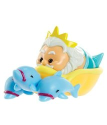 King Triton From The Little Mermaid Disney Tsum Tsum Mystery Stack Pack Series 5 Medium Character & Stackable Loose Figure