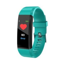 Bakeey ID115 Plus Color Screen Blood Pressure Heart Rate Monitor USB Charging Sma