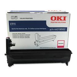 Oki Data 44318502 Image Drum For C711 Series Printers 20000 Page Yield Magenta