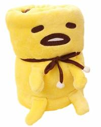 Mxcostume Anime Gudetama Cosplay Lazy Egg Plush Blanket 158 X 95 Cm