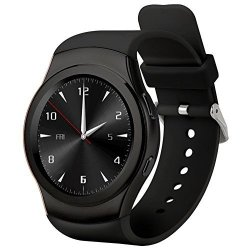 SPORT Bluetooth Smart Watch Phone 1.22 All Round Touch Screen Fashion S Style Built- In Sim T