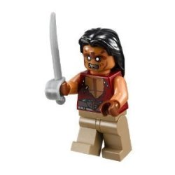 Lego Pirates Of The Caribbean Yeoman Zombie Minifigure