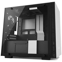 NZXT H200 - Mini-itx PC Gaming Case Case - Tempered Glass Panel - All-steel Construction - Enhanced Cable Management System - Wa