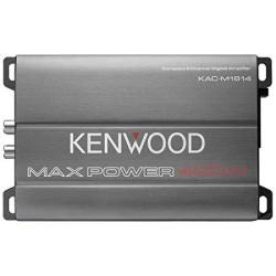 Kenwood KAC-M1814 4-CHANNEL Compact Bridgeable Marine motorsports 400W Max Power Digital Amplifier