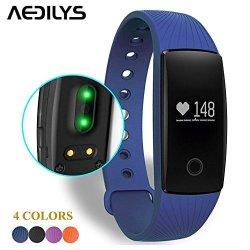 Smart Bracelet Aedilys Bluetooth 4.0 Smart Band Heart Rate Monitor Dynamic Wristban