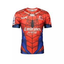 Canterbury Lions Marvel Spiderman Super Rugby Jersey - Kiddies 7 8
