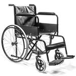 Xtremepowerus Adult Transport Folding Wheelchair With Handbrakes And Armrest Fda Approved
