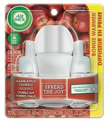 Air Wick Warm Apple Crumble Scented Oil Pack Of 1