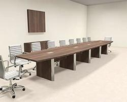Modern Boat Shaped 20' Feet Conference Table OF-CON-CP29