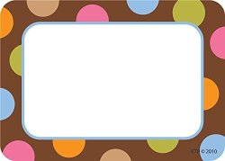 Creative Teaching Press Dots On Chocolate Labels 4510