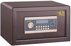 USA Wall Safes Safe Home Small Safe Office Large Electronic Password Locker Fire Safe Box With Inner Door Cabinet Safes Color : Brown Size : 2537.525CM