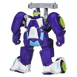 Playskool. B1013 Heroes Transformers Rescue Bots Blurr Figure Limited Edition
