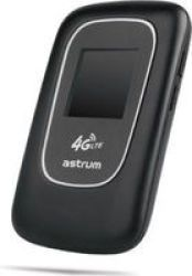 Astrum HS720 4G LTE Mifi Router with LCD Display in Black