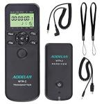 HAOXI Aodelan Camera Wireless Shutter Release Timer Remote Control For Sony A7RIII A7RII A9 A200 A560 A700 A850 A900 A77 A99 A7