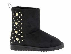 Love Moschino Luxury Fashion Womens Ankle Boots Summer Black