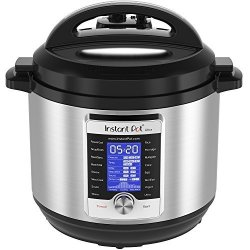 Instant Pot Ultra 8 Qt 10-IN-1 Multi- Use Programmable Pressure Cooker Slow Cooker Rice Cooker Yogurt Maker Cake Maker Egg Cooker Saut Steamer Warmer And Sterilizer